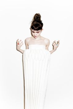 Grimes in a lampshade