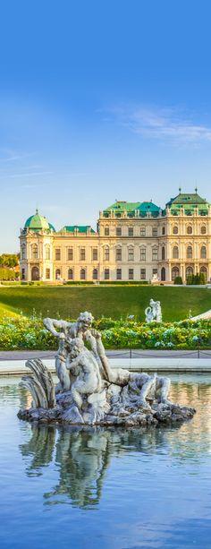Belvedere Palace,Viena, Austria
