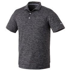 M-Puma Heather Polo (03502-01) Polo Shirt Logo, Custom Polo Shirts, Retail Me, Mens Sale, Golf, Mens Fashion, Mens Tops, Stitches, Sporty