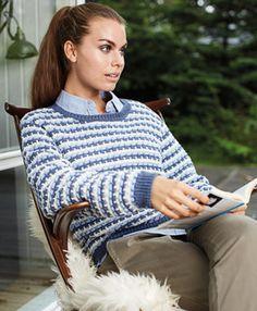 Smuk, strikket sweater - FamilieJournal.dk Mobil
