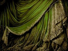 Antique Paper Theater Curtains by EveyD on DeviantArt Paper Curtain, Curtain Room, Slytherin, Toy Theatre, Theatre Stage, Stage Curtains, Wow Art, Antique Toys, Deviantart