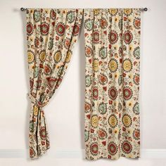 One of my favorite discoveries at WorldMarket.com: Suzani Print Curtain Panel...maybe use to make into pillows!