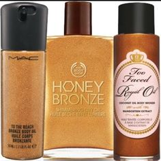 anyone selling??? MAC Bronze oil/ or The body shop MAC bronze oil/ the body shop. Willing to pay $10-$20 MAC Cosmetics Other