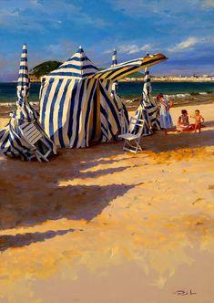 Las hermosas pinturas del artista español Ricardo sanz.