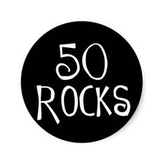 >>>Best          	50th birthday gifts, 50 ROCKS Round Stickers           	50th birthday gifts, 50 ROCKS Round Stickers We have the best promotion for you and if you are interested in the related item or need more information reviews from the x customer who are own of them before please follow th...Cleck Hot Deals >>> http://www.zazzle.com/50th_birthday_gifts_50_rocks_round_stickers-217246692636720645?rf=238627982471231924&zbar=1&tc=terrest