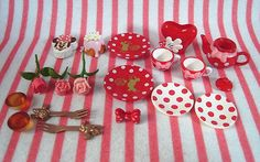 Re-ment (Rement) Disney Minnie Mouse : Lovely Cakes #2