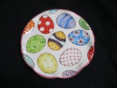 8 inch Egg Plate