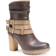 MUK Luks Women's Skylynn Boots, Size: 6, Beige