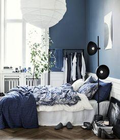 Inredningshjälpen: Blå vågen fortsätter hos H&M Home våren 2017