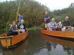 Susanna Wriston with George & Pat Edmonds with Peg & Ken Abt on the Sile' river tour in the Oasi Cervara wildlfe preserve in Treviso Province in Italy