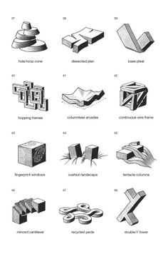 axonomatrix - archidose: Siteless: 1001 Building Forms ...