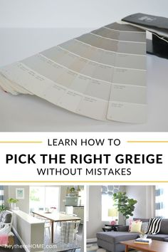 The best explanation I've ever read about how to choose the right paint color! #wallcolor #greige #paint #neutral #choosepaint #interiorpaint via @heytherehome.com Neutral Wall Colors, Greige Paint Colors, Room Paint Colors, Paint Colors For Home, House Colors, Cherry Wood Kitchen Cabinets, Cherry Wood Kitchens, Interior Color Schemes, Interior Paint Colors