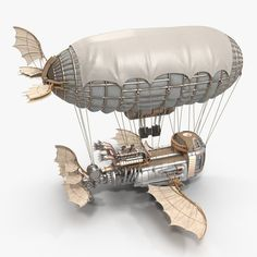Airship Model available on Turbo Squid, the world's leading provider of digital models for visualization, films, television, and games. Steampunk Ship, Mode Steampunk, Steampunk Design, Steampunk Fashion, Fantasy Concept Art, Fantasy Art, Sience Fiction, Fun Craft, Aviation Decor