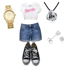 """""""School"""" by hellokitty379921 on Polyvore featuring Topshop, Converse, Bling Jewelry and Amanda Rose Collection"""