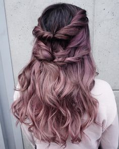 MAUVE / FADED PURPLE / DUSTY ROSE / OMBRE (@evalam_)