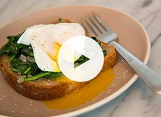 The one trick to poaching an egg