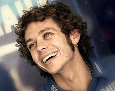 A young Valentino Rossi