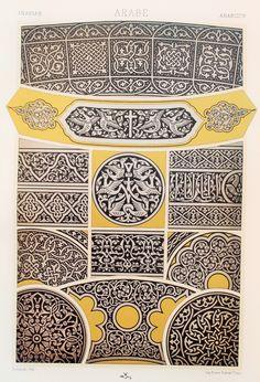 Arabian Middle-East Decorative Ornament (Metalworking on Silver & Black, etc) - Chromolithograph  https://img1.etsystatic.com/033/1/9377676/il_fullxfull.610706657_qi9k.jpg