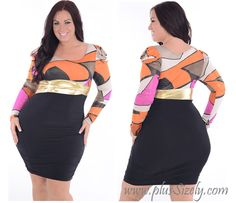 Plus size nightclub dresses – Hello ladies, in this happy day we will talk about plus size dress. As we know, plus size dress is created for plus size women and we also know there are so many kind of dress Plus Size Nightclub Dresses, Hello Ladies, Diva Fashion, Style And Grace, Insta Makeup, Plus Size Women, Curvy, Two Piece Skirt Set, Colorful