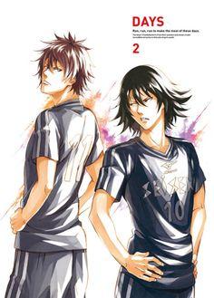 ♡Welcome to Anime Husbands Hell♡ Days Anime, Days Manga, Fanart Manga, Anime Manga, Captain Tsubasa, Handsome Anime, Picts, Childhood Friends, Sports Art