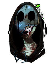 eyeless jack by octavian Scary Creepypasta, Creepypasta Proxy, Creepypasta Characters, Eyeless Jack, Laughing Jack, Coraline, Toby Is A, Desenhos Gravity Falls, Jeff The Killer