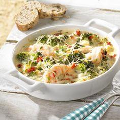 Scampigratin met broccoli - Colruyt Culinair !