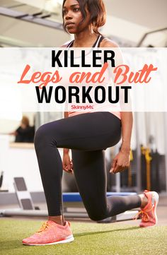Circuit training that utilizes added resistance is an excellent way to burn excess fat and build muscle, simultaneously. In as little as 10 minutes, our Killer Legs and Butt Workout will do just that! Leg Training, Circuit Training, Loose Leg Fat, Killer Legs, Skinny Ms, At Home Workouts, Butt Workouts, Killer Leg Workouts, Workout For Beginners