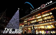 Get to Central World – the 6th largest shopping complex in the world with direct Skytrain access from Centre Point Hotel Chidlom Bangkok Thailand!