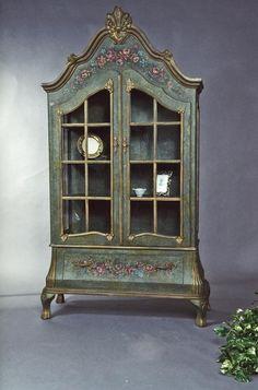 "Enchanted Manor China Cabinet, 51"" x 20"" x 92"" h. $2495.00 at victoriantradingco.com, 12/10/15"