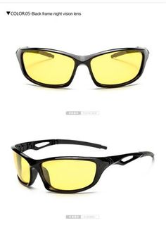 Men's Sunglasses Longkeeper Night Vision Glasses Driver Driving Night Vision Glasses Driving Yellow Lens Classic Anti Glare Vision Driver Safety By Scientific Process