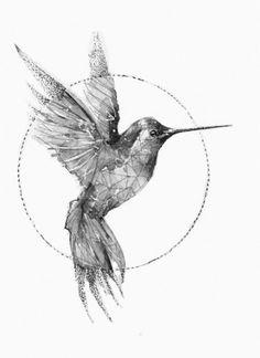Ideas for bird tattoo sparrow hummingbirds – floral tattoo sleeve Tiny Bird Tattoos, Bird Tattoo Wrist, Small Tattoos, Deer Tattoo, Raven Tattoo, Tattoo Sparrow, Bird Drawings, Tattoo Drawings, Tattoo Graphique