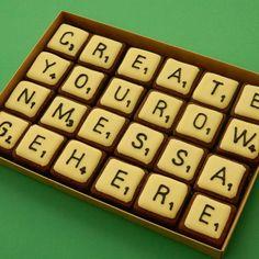 Scrabble Cookies | ... Scrabble tiles : Campervan Cookies, Delicious handmade and bespoke
