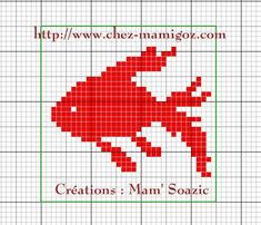 Cross Stitch Sea, Cross Stitch Animals, Cross Stitch Charts, Cross Stitch Patterns, Fillet Crochet, C2c Crochet, Crochet Blocks, Knitting Charts, Knitting Stitches