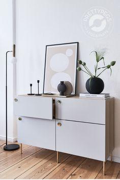Buy new storage furniture legs for IKEA Pretty Pegs, Ikea Couch, Decor Scandinavian, Ikea Cabinets, Furniture Legs, Cheap Home Decor, Home Decor Accessories, Interior Design, Decoration
