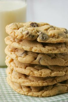 A kid-friendly, shortcut way to make chocolate chip cookies!