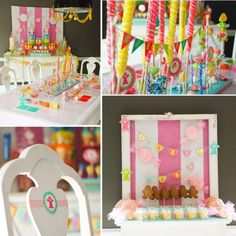 Candy Land Ideas #candyland #birthday #ideas