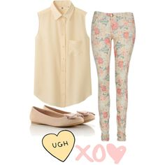First Day of 8th Grade by happyasianxx on Polyvore featuring Uniqlo
