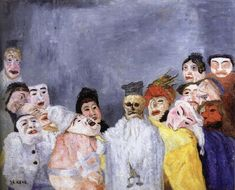 The Great Judge, James Ensor