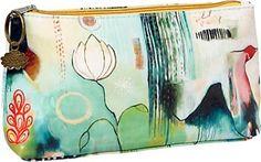 Leaves & Berries Cosmetic Bag