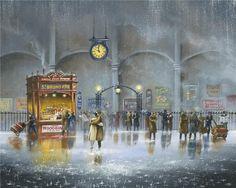Jeff Rowland и его городской пейзаж в иллюстрациях. Обсуждение на LiveInternet - Российский Сервис Онлайн-Дневников