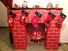 Készítsünk papírból kandallót | kecskemet.imami.hu Advent, Christmas Crafts, Gift Wrapping, Winter, Inventors, Gifts, Decor, Xmas, Paper Board