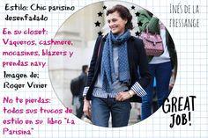 Inés de la Fressange style at El Blog de Malules