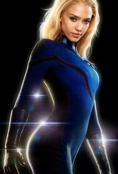 Marvel Dc Movies, Marvel Heroes, Jessica Alba Fantastic Four, Jessica Alba Pictures, Avengers Team, Invisible Woman, Female Superhero, Epic Cosplay, Pretty Black Girls