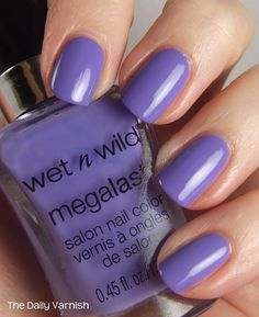 Wet n Wild Megalast nail polishes. For $2 you get a great formula, wide brush for quick application, and a polish with endurance. This proves drugstore can sometimes top high-end. I love it when that happens!
