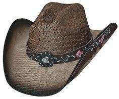 Ladies Straw Hat Enchanted