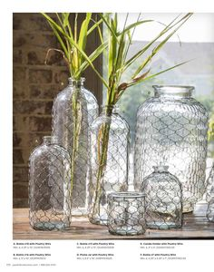 Extra Large Canning Jar with Poultry Wire Decor Crafts, Diy Home Decor, Urban Farmhouse Designs, Park Hill Collection, Interior Design Courses Online, Canning Jars, Vintage Christmas Ornaments, Decorating Tools, Home Decor Inspiration