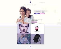 Purple Home designed by vannelope. Connect with them on Dribbble; the global community for designers and creative professionals. Purple Home, Portfolio Web Design, Design Inspiration, Door Prizes, Tutorials