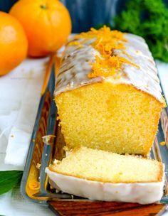 Rezept: Orangenkuchen mit Zuckerguß   waseigenes.com