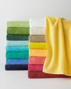 Signature Egyptian Cotton Bath Towels - Garnet Hill