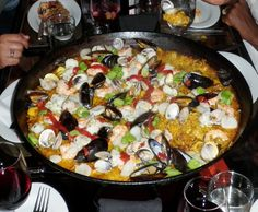 Seafood Paella from Socarrat, NYC. Yum.
